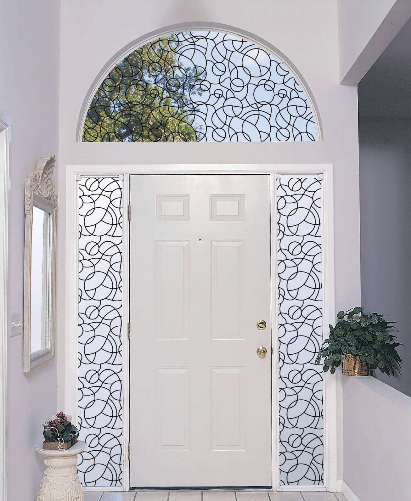 Decorating Arched Windows Decorative Window Film Blog