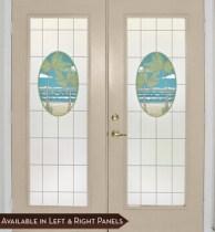 Island Oasis Door Panel (Privacy)
