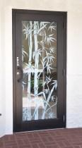Big Bamboo Office Door Outside