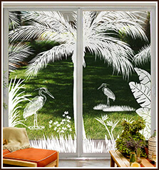 Etched Glass Stained Glass Frosted Glass Window Films