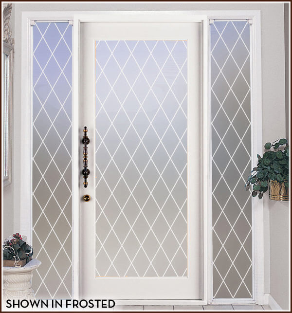 Orleans Leaded Glass Privacy Film Wallpaper For Windows