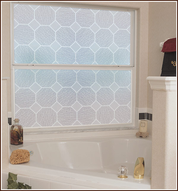 Glass Block Etched Glass Privacy Film
