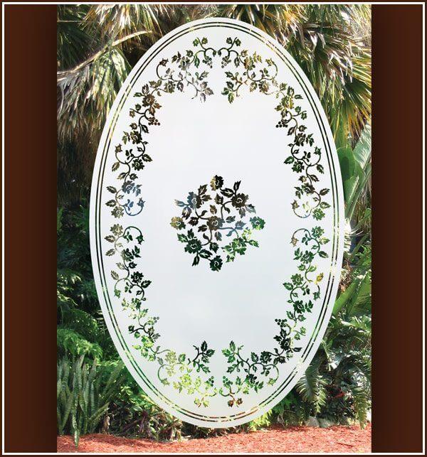 Eden Oval on door or window