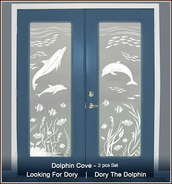 Dolphin Cove privacy with right and left design