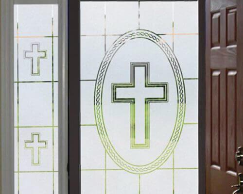 Religious Theme Window Film